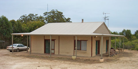 Raydon mud brick home